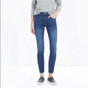 "Madewell ""High Riser Skinny"" Jeans"